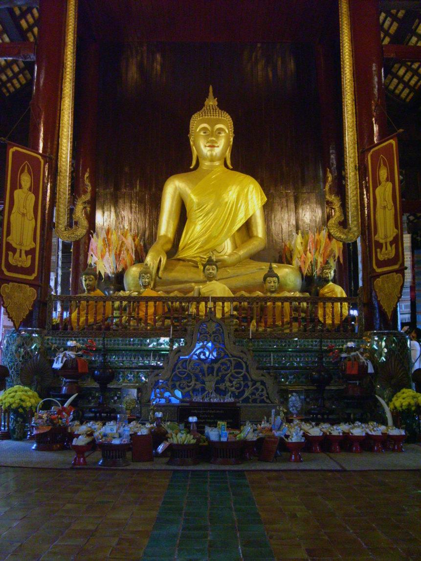 Free photo: Golden Buddha