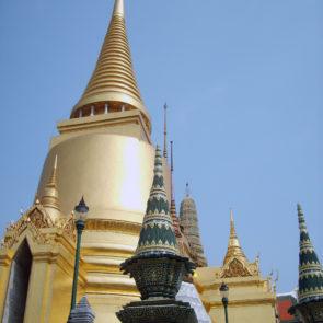 Golden stupa in Bangkok