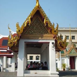 Students in Grand Palace - Bangkok