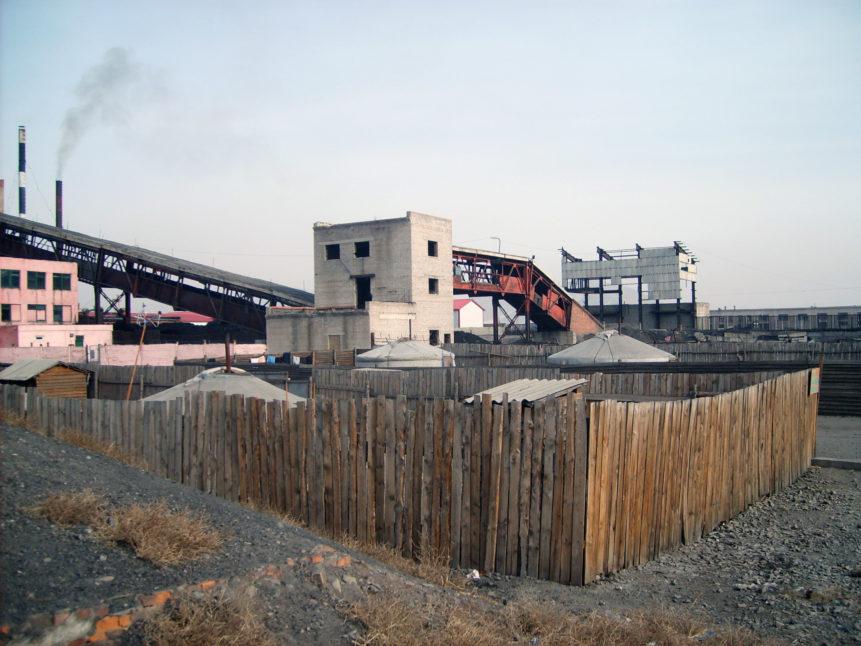 Free photo: Industry in Ulaanbaatar