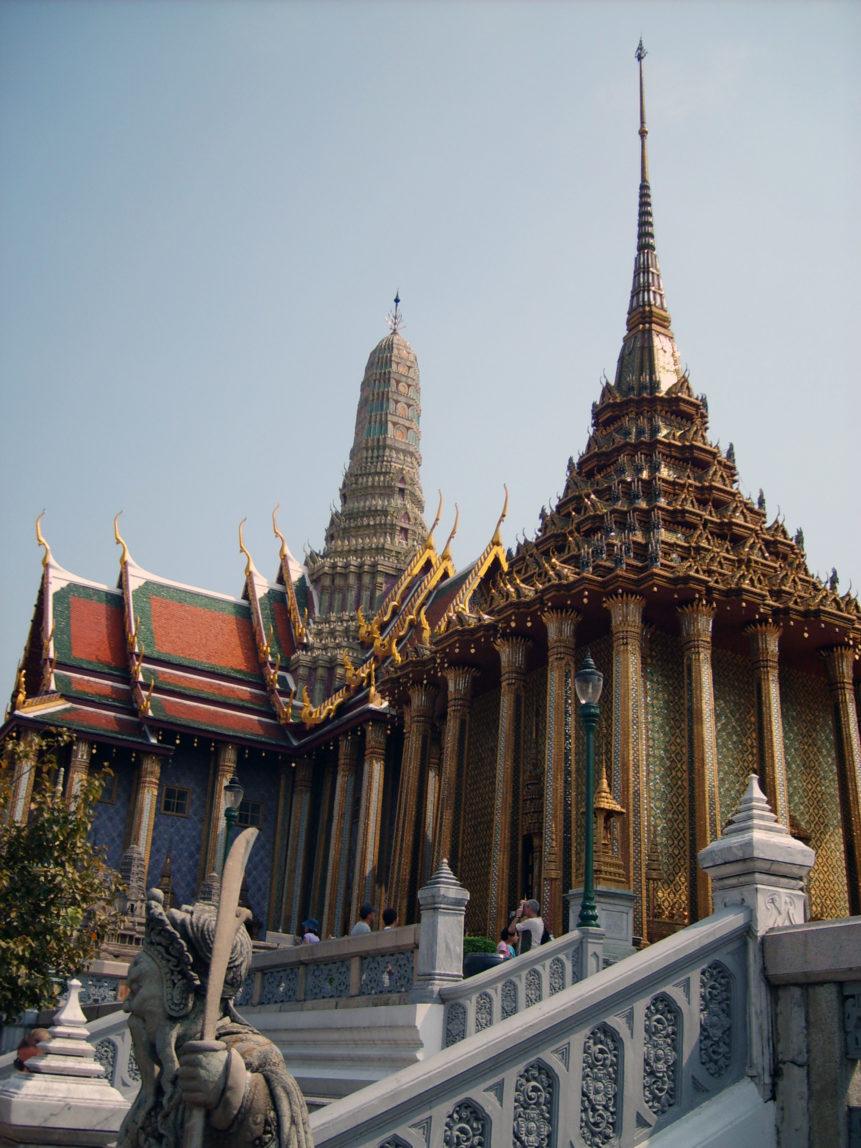 Free photo: Grand Palace in Bangkok