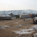 Yurts in cemetery – Ulaanbaatar