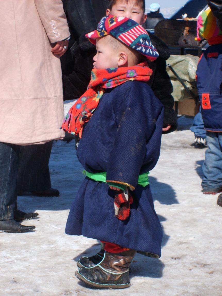 Free photo: Mongolian baby
