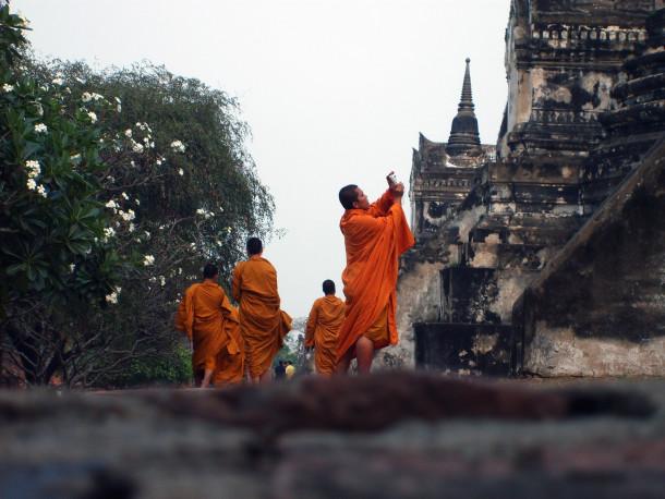 Free photo: Ayutthaya in Thailand