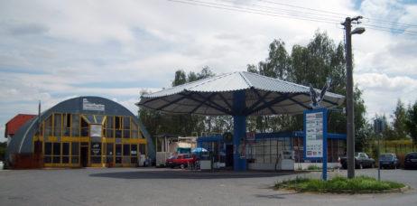 Petrol pump in Czech