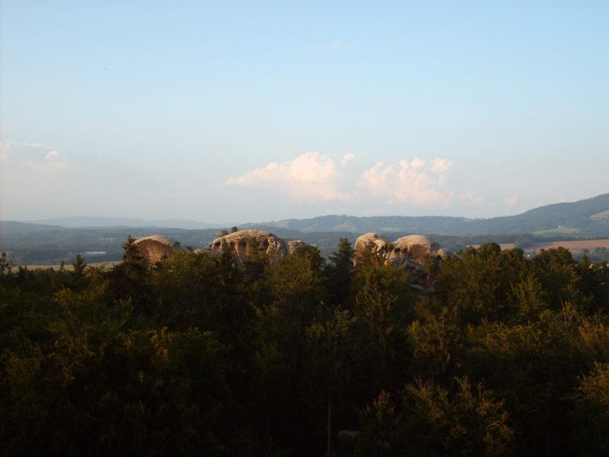 Free photo: Rock city in Czech