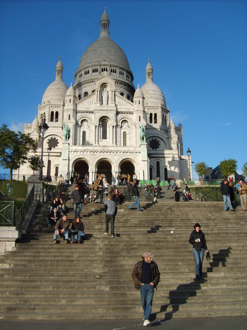 Free photo: Sacre Coeur in Montmartre