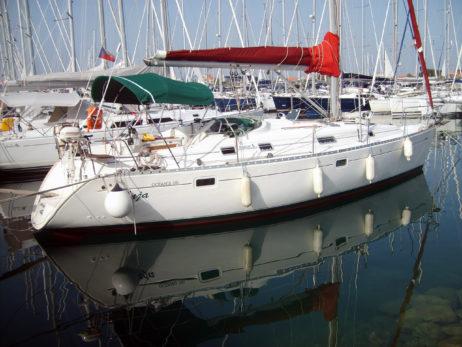 Sailboat in Croatia