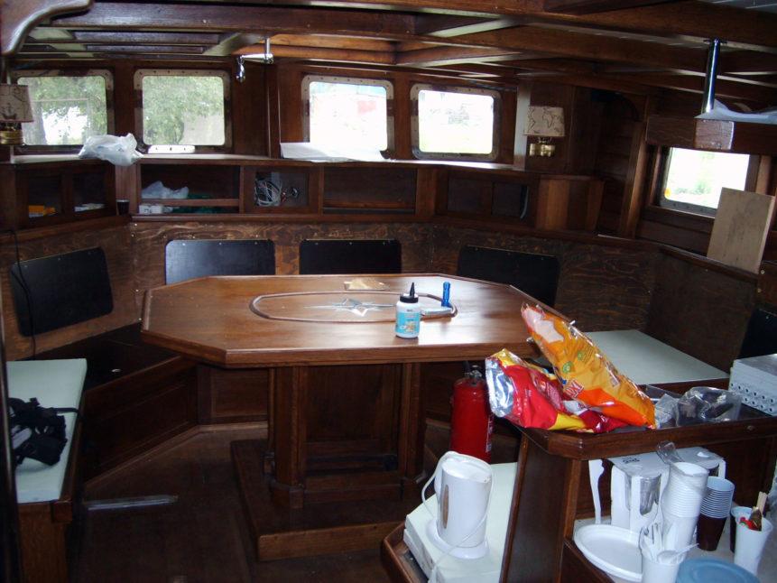 Free photo: Interior of Sailboat