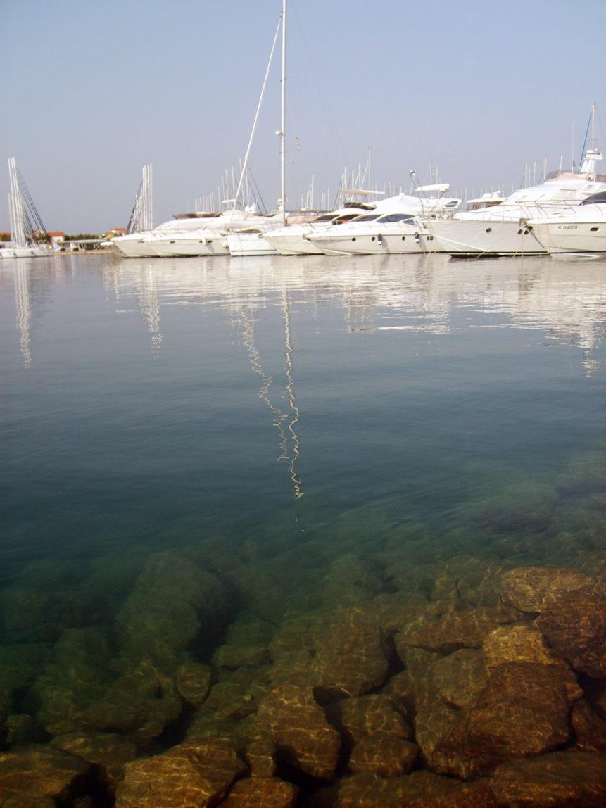 Free photo: Sea port in Split, Croatia, 2009