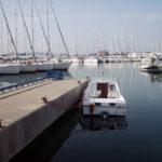 Boat in port – Split, Croatia