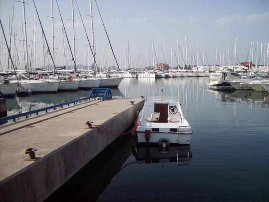Free photo: Boat in port - Split, Croatia
