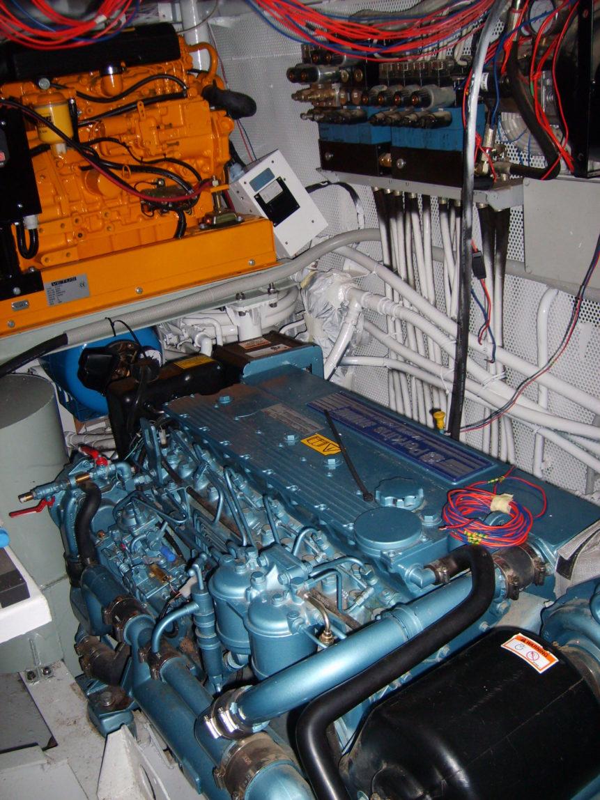 Free photo: Ship engine Perkins