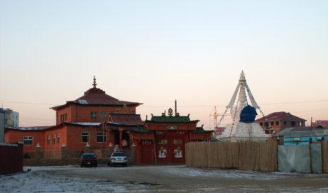 Urjinshadduvlin monastery in Mongolia