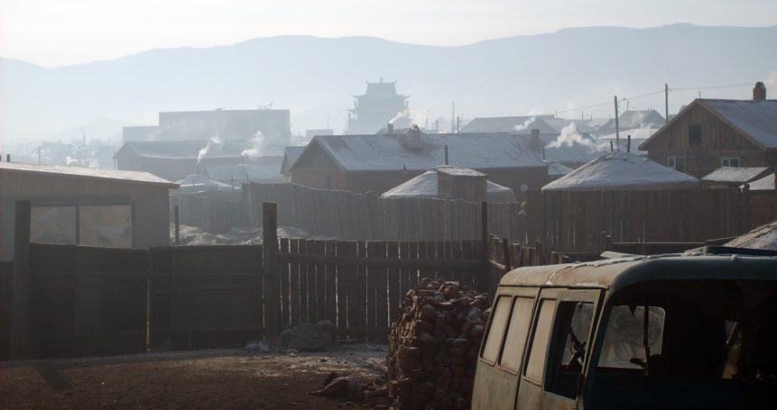 Free photo: Winter in Ulaanbaatar