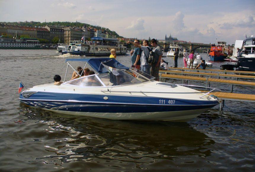 Free photo: Boat in Prague