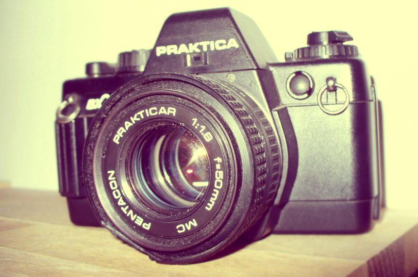 Free photo: Camera Praktica bx20