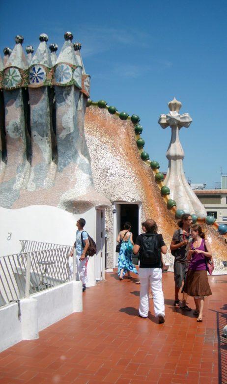 Chimneys on Casa Batllo