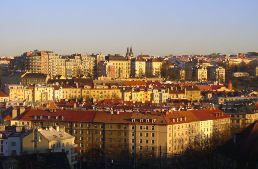 Free photo: City houses