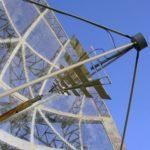 Detail of radio telescope