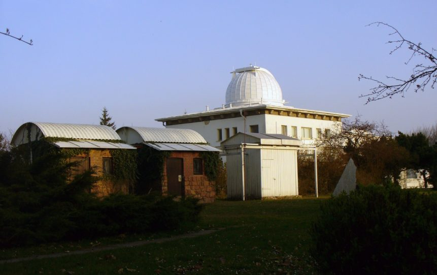 Free photo: Dome observatory