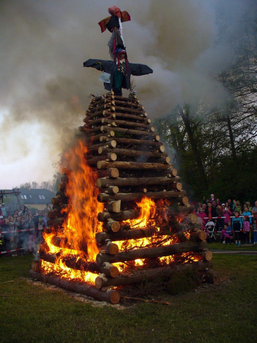 Free photo: Burning witches