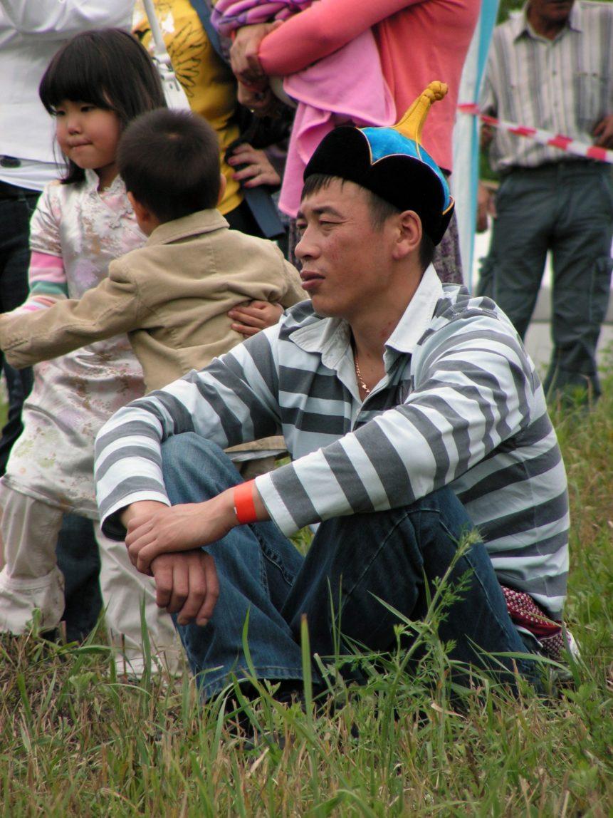 Free photo: Mongolian man