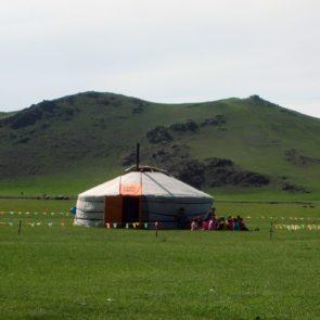 Mongolian yurt - nursery