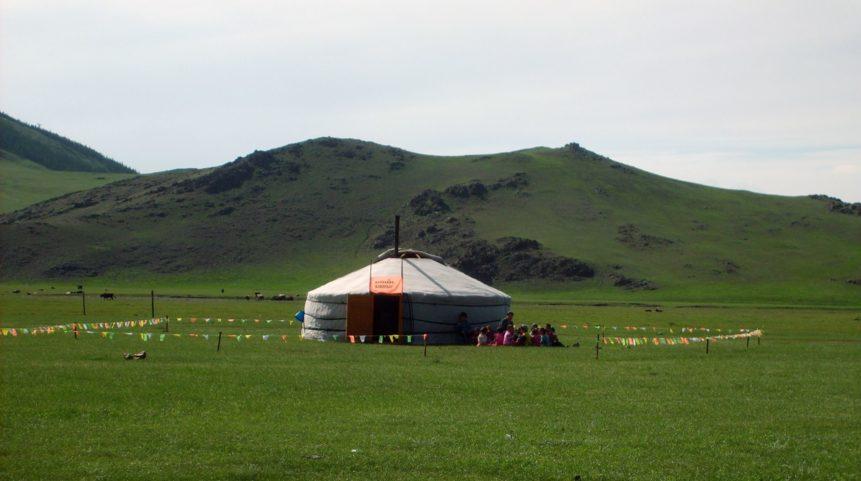 Free photo: Mongolian yurt - nursery