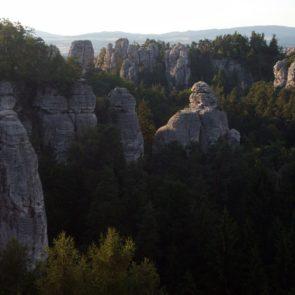 Rock city in Czech