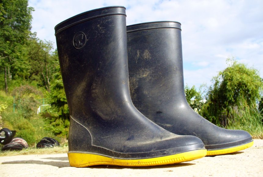 Free photo: Rubber Boots