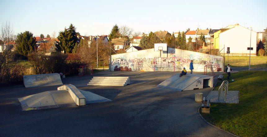 Free photo: Skatepark