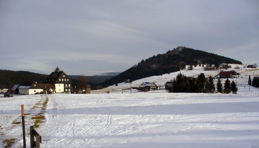 Free photo: Snowy Hillside