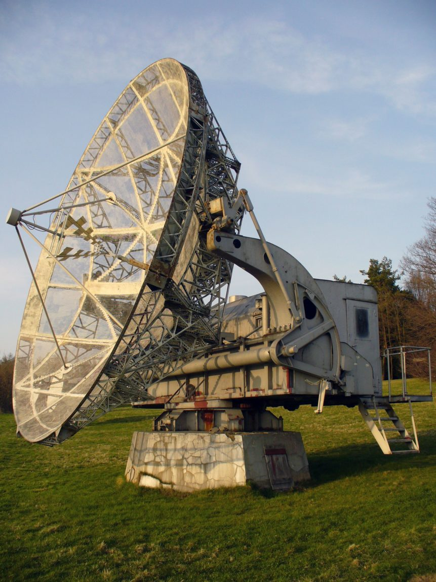 Free photo: Space Radiotelescope