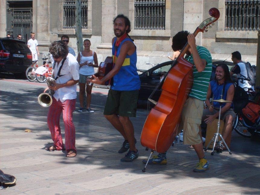 Free photo: Street musicians