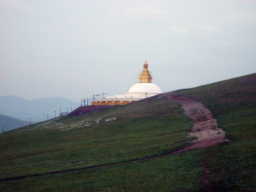 Free photo: Buddhist Stupa in Mongolia