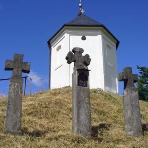 Three Crosses and Church