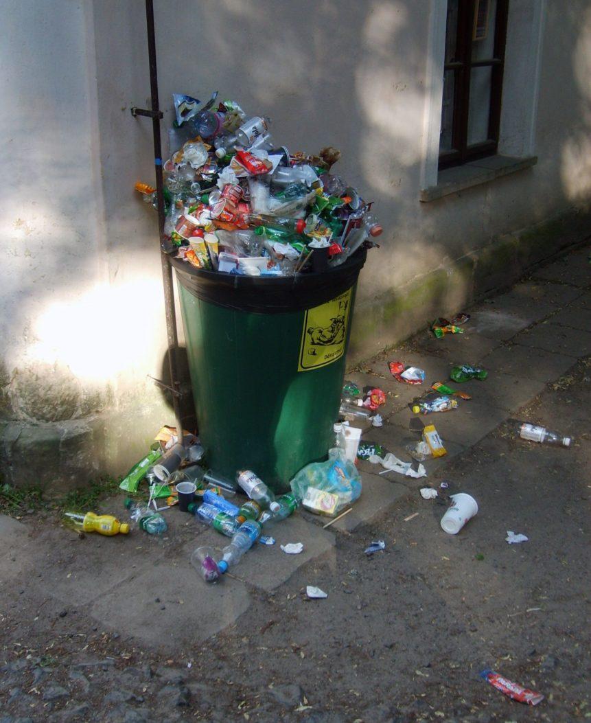 Free photo: Trash Can