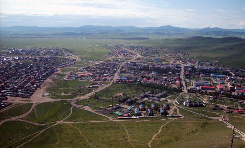 Free photo: Tsetserleg City in Mongolia
