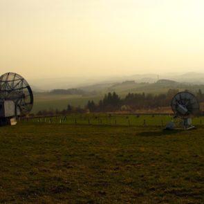 Radiotelescope in Czech