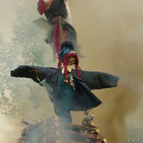 Burning witch