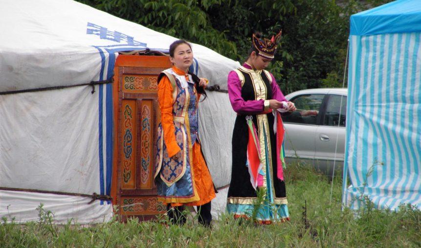Free photo: Mongolian Ladies