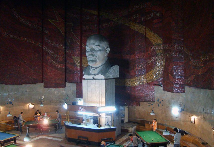 Free photo: Billiard and Lenin
