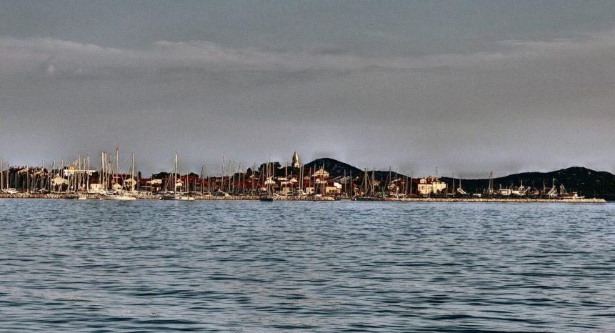 Free photo: Biograd Croatia