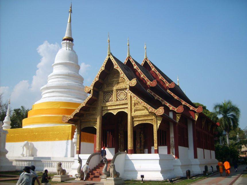 Free photo: Buddhist Monastery in Thailand