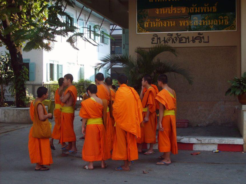 Free photo: Buddhist Monks