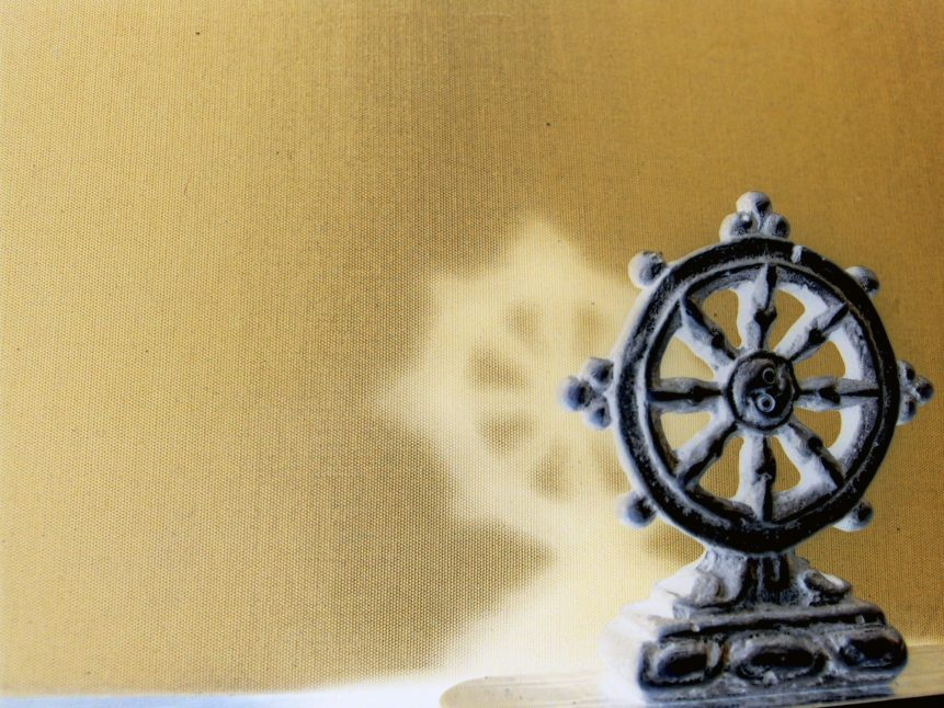 Free photo: Buddhist Wheel Wallpaper