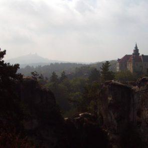Hruba Skala Castle