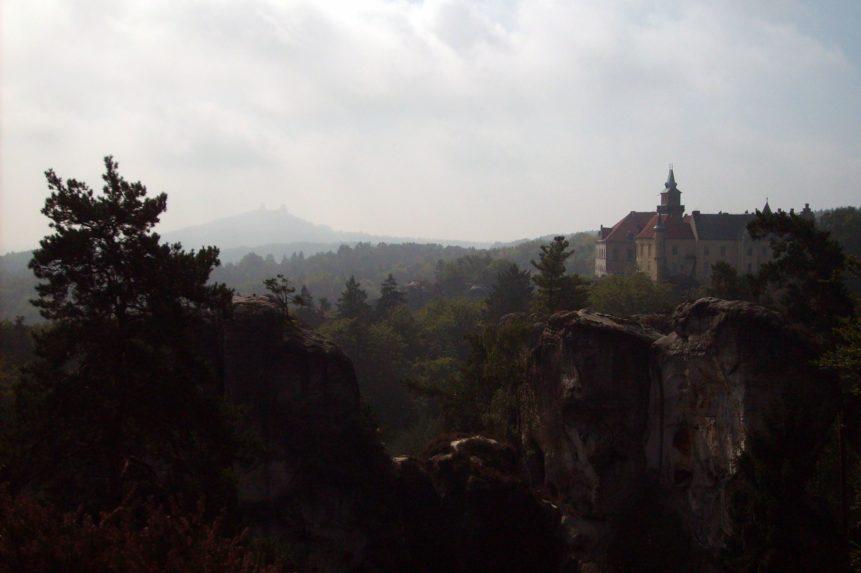 Free photo: Hruba Skala Castle