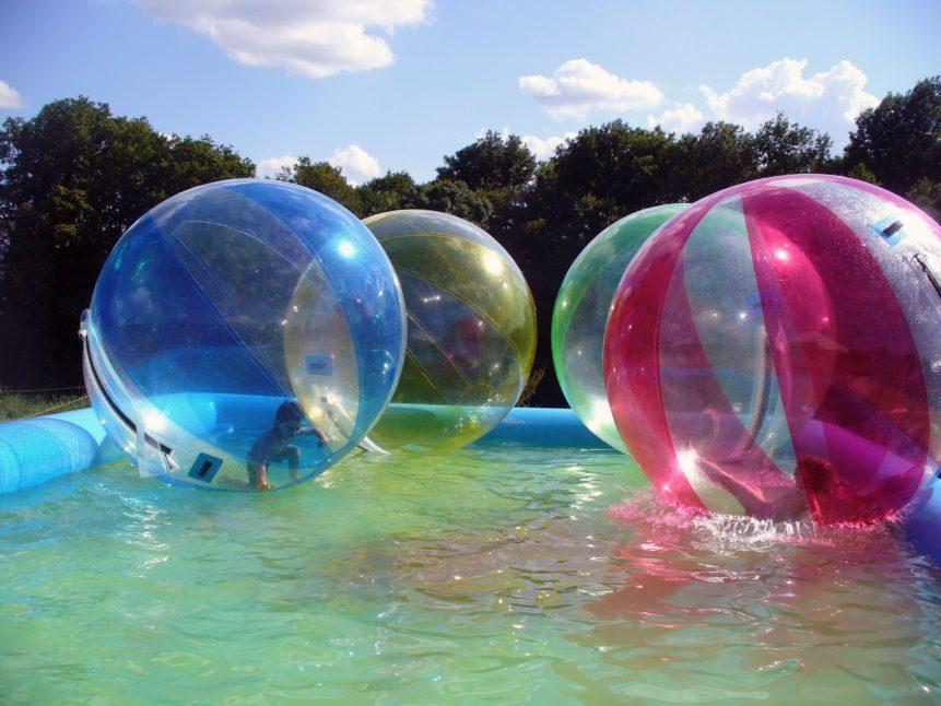 Free photo: Children in Balloon